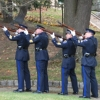 Honor Guard Rifle Salute